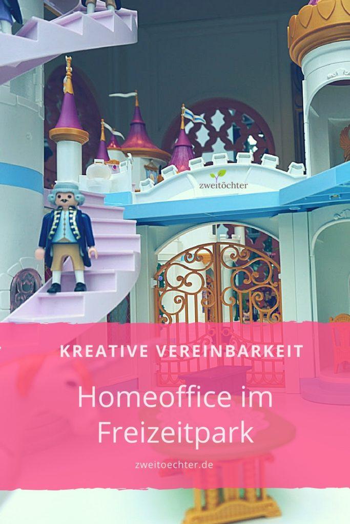 Kreative Vereinbarkeit - Homeoffice im Freizeitpark - zweitöchter