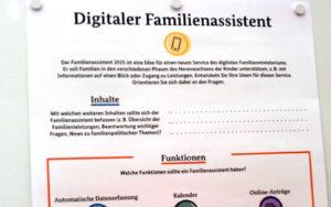 2. Workshop-Aufgabe Bundesfamilienmininisterium auf der Blogfamilia