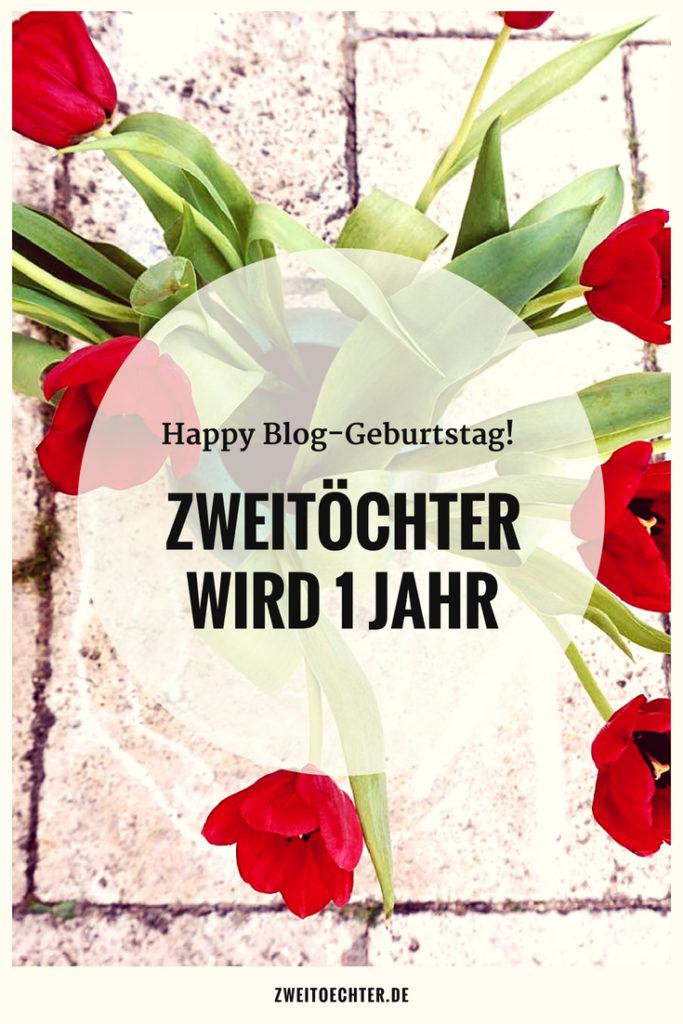 zweitöchter wird 1 Jahr - Happy Blog-Geburtstag mit FAQ