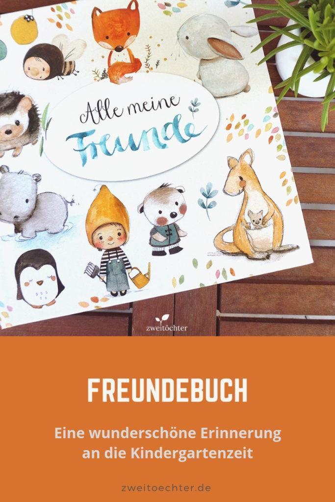 Ein Freundebuch zur Erinnerung an die Kindergartenzeit - zweitöchter