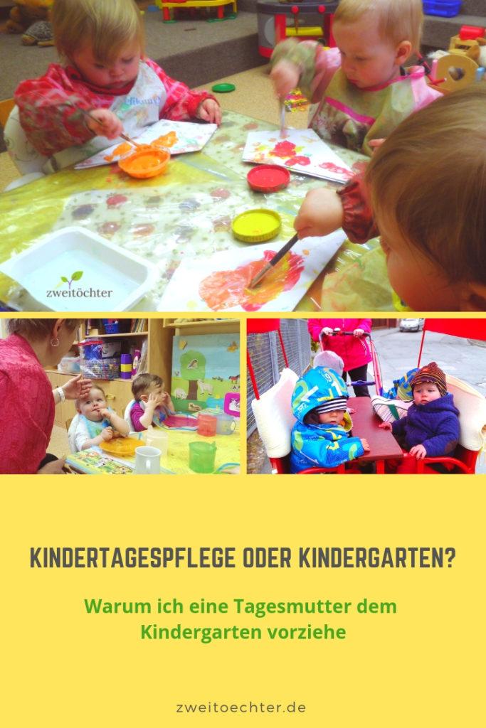 Kindertagespflege oder Kindergarten? Warum ich eine Tagesmutter dem Kindergarten vorziehe - zweitöchter