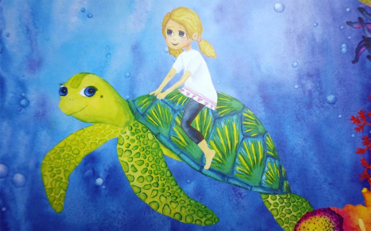 Kinderbuch über die Verschmutzung der Weltmeere ab 2 Jahren - zweitöchter