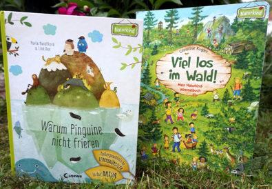 Naturkind-Kinderbücher: Viel los im Wald! und Warum Pinguine nicht frieren