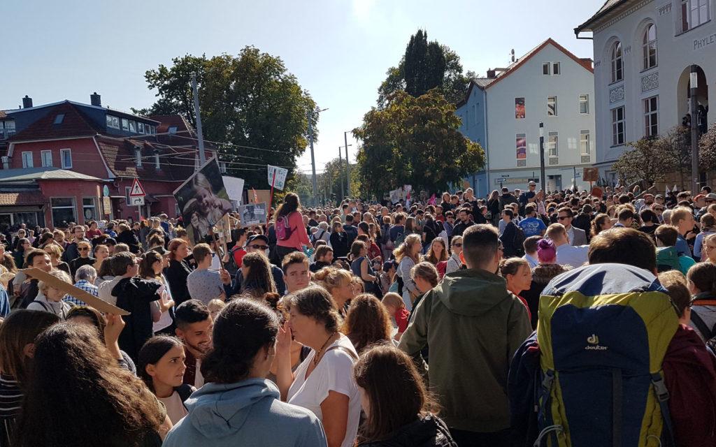 Klimastreik in Jena für mehr Klima- und Umweltschutz