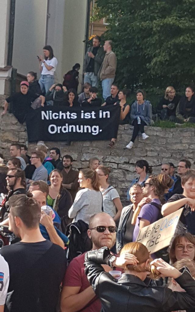 Nichts ist in Ordnung! Klimastreik in Jena