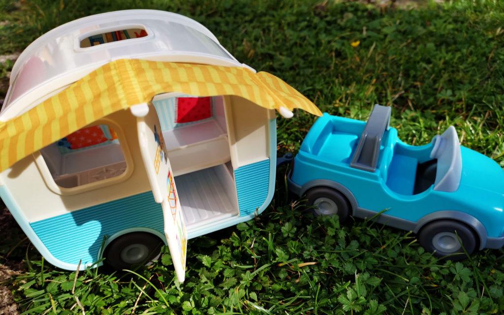 Wohnwagen mit Auto von HABA