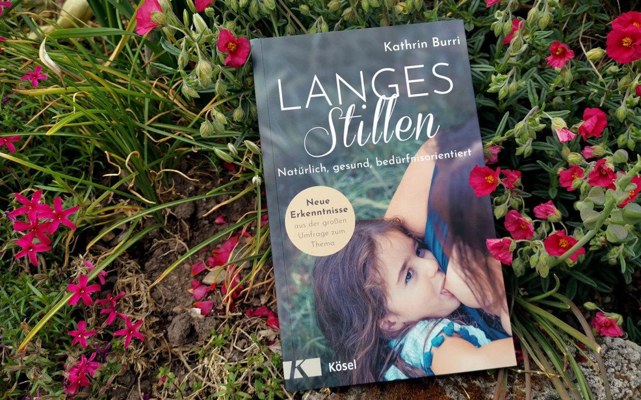 """Rezension Buch """"Langes Stillen"""" Cover"""