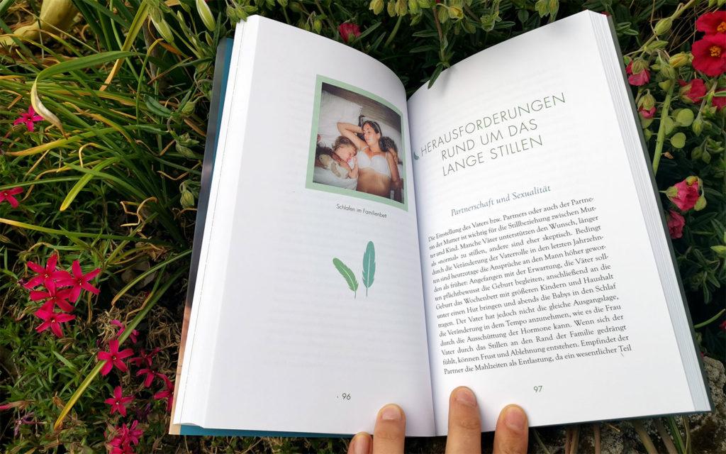"""Rezension Buch """"Langes Stillen"""" Kapitelanfang"""