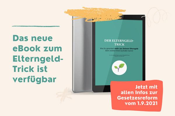 Neues ebook zum Elterngeld-Trick
